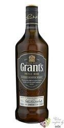 "Grants Triple wood "" Smoky "" blended Scotch whisky 40% vol.  0.70 l"