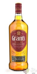 "Grant´s Triple wood "" Stand fast "" blended Scotch whisky 40% vol.  0.70 l"