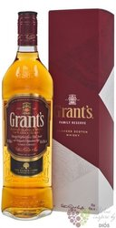 "Grant´s Triple wood "" Stand fast "" gift box blended Scotch whisky 40% vol.  0.70 l"