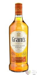 "Grant´s Cask edition "" Rum cask "" blended Scotch whisky 40% vol.  0.70 l"