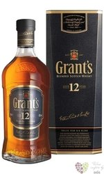 "Grant´s "" Cask Selection "" aged 12 years premium blended scotch whisky 43% vol.1.00 l"