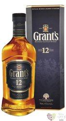 Grant´s aged 12 years blended Scotch whisky 40% vol.  0.70 l