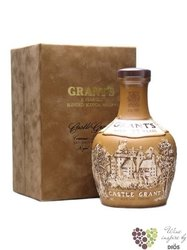 "Grant´s "" Castle Grant "" aged 21 years ceramic decanter premium scotch whisky 43% vol.   0.70 l"