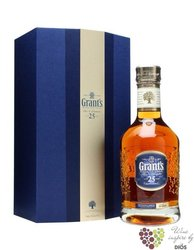 Grant´s 25 years old premium blended Scotch whisky 40% vol.  0.70 l