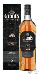 "Grant´s elementary "" Carbon "" aged 6 years blended malt Scotch whisky 40% vol.1.00 l"