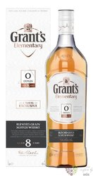 "Grant´s elementary "" Oxygen "" aged 8 years blended grain Scotch whisky 40% vol.1.00 l"