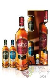 "Grant´s "" Family Reserve "" 2 mini pack finest Scotch whisky 40% vol.   0.70 l"