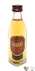 "Grant´s "" Family Reserve "" finest blended Scotch whisky 40% vol.    0.05 l"