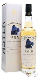 "Compass Box "" Asyla "" blended Scotch whisky 40% vol.   0.70 l"
