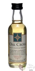 "Compass Box "" Oak Cross "" blended malt Scotch whisky 43% vol.   0.05 l"