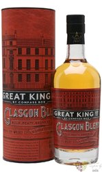 "Compass Box "" Great King street Glasgow blend "" Scotch whisky 43% vol.  0.50 l"