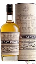 "Compass Box "" Great King street "" artist´s blend of Scotch whisky 43% vol.  0.50 l"