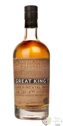 "Compass Box "" King Street experimental batch 1 00-V4 "" blend of Scotch whisky 43% vol. 0.50 l"