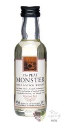 "Compass Box "" Peat Monster "" Blended malt Scotch whisky 46% vol.    0.05 l"