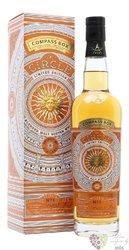 "Compass Box "" the Circle no.1 "" blended malt Scotch whisky 46% vol.  0.70 l"