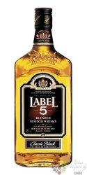 "Label 5 "" Classic Black "" finest blended Scotch whisky 40% vol.  0.35 l"