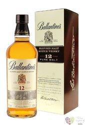 "Ballantine´s "" Pure malt "" 12 years old blended malt Scotch whisky 40% vol.   0.70 l"