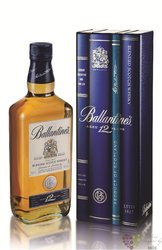 Ballantine´s 12 years old metal box ed.2013 premium Scotch whisky 40% vol.   0.70 l
