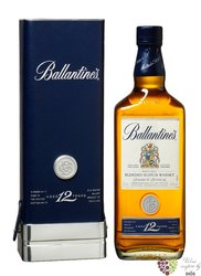 Ballantine´s 12 years old gift leather box premium blended Scotch whisky 40% vol.   0.70 l