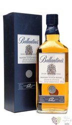 Ballantine´s 12 years old premium blended Scotch whisky 40% vol.    1.00 l