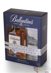 Ballantine´s 12 years old 2glass pack 2012 edition premium Scotch whisky 40% vol.   0.70 l