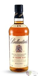 Ballantine´s 15 years old premium blended Scotch whisky 40% vol.  0.70 l