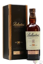 Ballantine´s 30 years old premium blended Scotch whisky 43% vol.  0.70 l