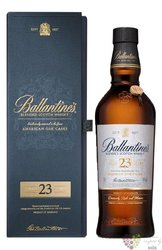 Ballantine´s 23 years old premium blended Scotch whisky 40% vol.  0.70 l
