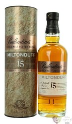 "Ballantine´s Series 002 "" Miltonduff "" aged 15 years single malt Speyside whisky 40% vol.  0.70 l"