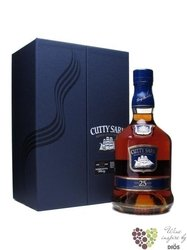 Cutty Sark 25 years old premium blended Scotch whisky by Berry Bros & Rudd 45.7% vol.   0.70 l
