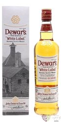 "Dewar´s "" White label "" finest Scotch whisky 40% vol.  1.00 l"