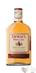 "Dewar´s "" White label "" finest Scotch whisky 40% vol.  0.20 l"