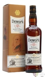 "Dewar´s "" the Ancestor "" aged 12 years premium Scotch whisky 40% vol.  0.70 l"