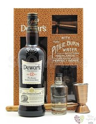 "Dewar´s "" the Ancestor "" aged 12 years gift set premium Scotch whisky 40% vol. 0.70 l"