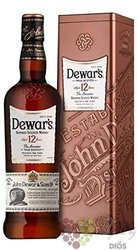 "Dewar´s "" the Ancestor "" aged 12 years metal box Scotch whisky 40% vol.  0.70 l"