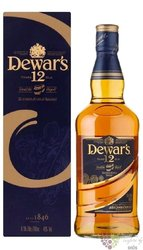Dewar�s � Double Aged � aged 12 years premium Scotch whisky 40% vol.   0.375 l