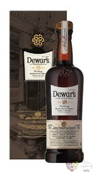 "Dewar´s "" the Vintage "" aged 18 years Scotch whisky 40% vol.  1.00 l"
