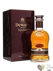 "Dewar´s "" Signature "" new release premium blended Scotch vhisky 40% vol.   0.70l"