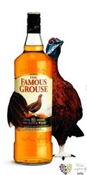 Famous Grouse blended Scotch whisky 40% vol.     1.00 l