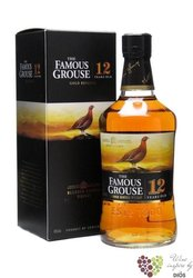 """Famous Grouse """" Gold Reserve """" aged 12 years exceptional blended Scotch whisky 43% vol.   0.70 l"""