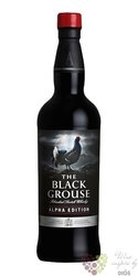 "Famous Grouse "" Black Grouse Alpha edition "" blended Scotch whisky 40% vol.  0.70 l"