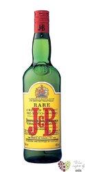 """J&B """" Rare """" gift box blended Scotch whisky 40% vol.    0.70 l"""