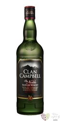 """Clan Campbell """" the Noble """" blended Scotch whisky 40% vol.  1.00 l"""