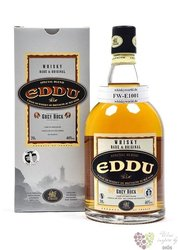 "Eddu "" Grey rock "" special blend of French Bretagne whisky 40% vol.     0.70 l"