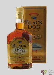 "Black Dog "" De Luxe "" aged 12 years premium Scotch whisky 43% vol.    1.00 l"