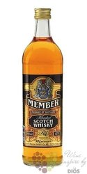 Member blended Scotch whisky 40% vol.    0.70 l