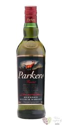Parkers finest Scotch whisky by Angus Dundee 40% vol.     1.00 l