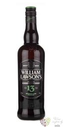 William Lawsons aged 13 years Scotch whisky 40% vol.   1.00 l