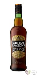 "William Lawsons "" Super Spiced "" flavored Scotch whisky 35% vol.   1.00 l"