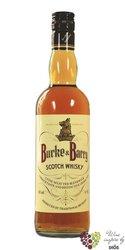 Burke & Barry blended Scotch whisky 40% vol.  0.70 l